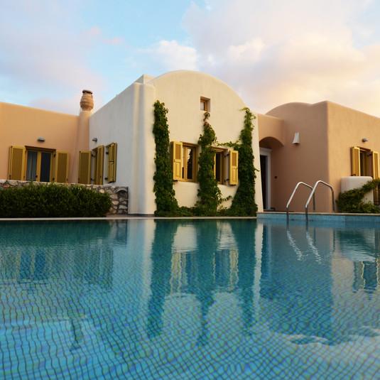 Superior Villa Alcyone | Pool Area