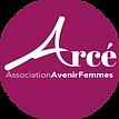 Logo association Arcé Avenir Femmes