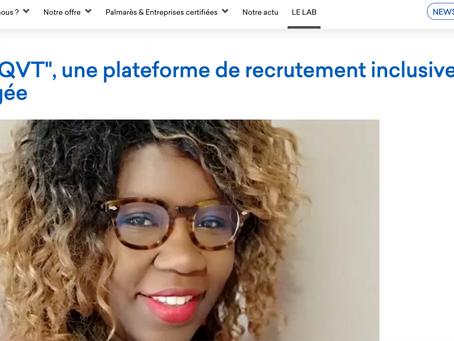 UN NOUVEAU PARTENAIRE : Bienvenue à Aude Selly et son site QVT !https://www.greatplacetowork.fr/lab/