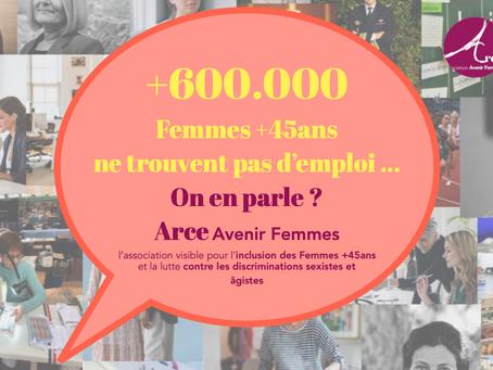 """Suivez notre campagne de communication sur les RS autour de notre étude """"Femmes +45a et Emploi """""""