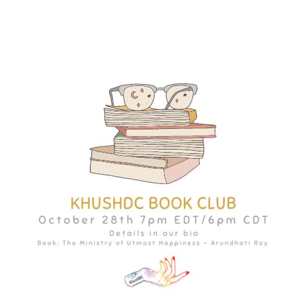 KhushDC Book Club October