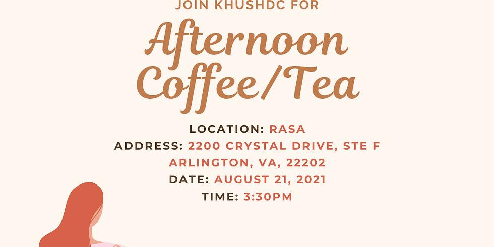 Afternoon Coffee/Tea Social