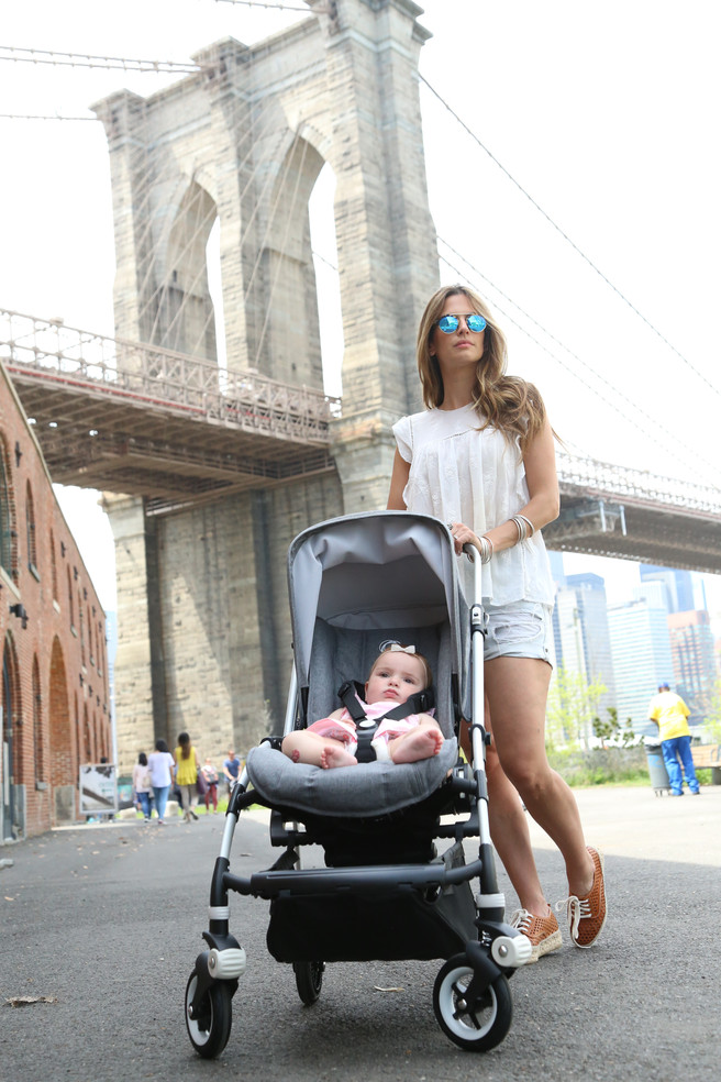 STROLLING NYC WITH BUGABOO