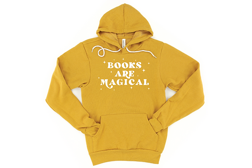 Books Are Magical Hoodie