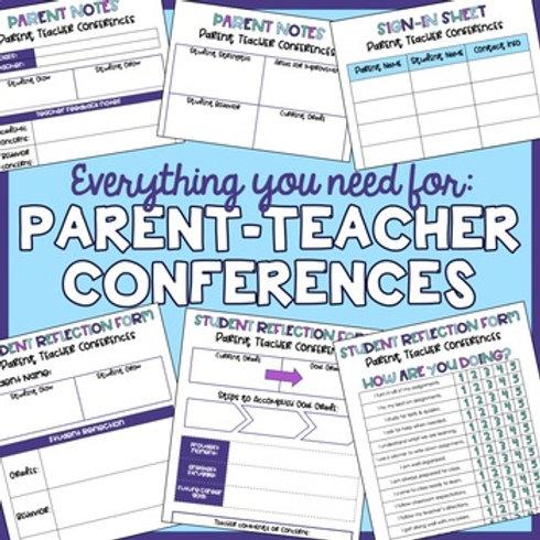 Parent Teacher Conference Resources