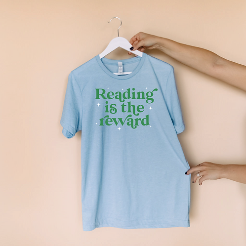 Reading is the Reward Tee (Green)