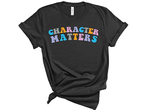 Character Matters Tee