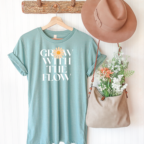 Grow with the Flow Tee