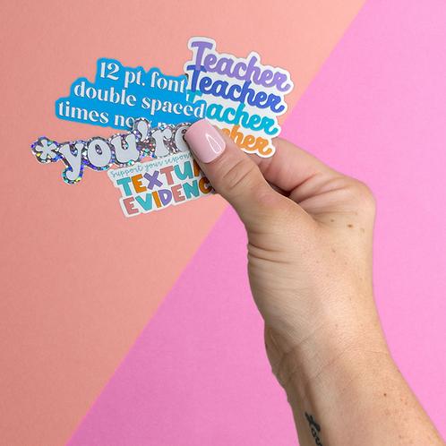 Sticker Pack (SALE)