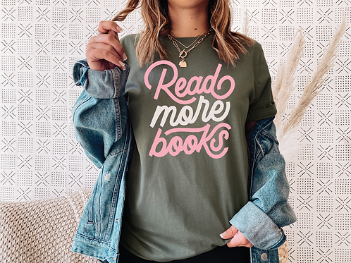 Read More Books (Pink)