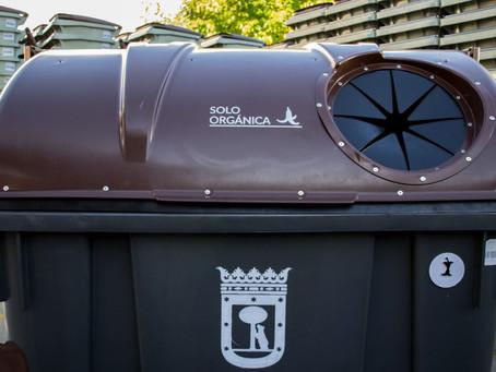 Gestión de Residuos: contenedores para residuos orgánicos