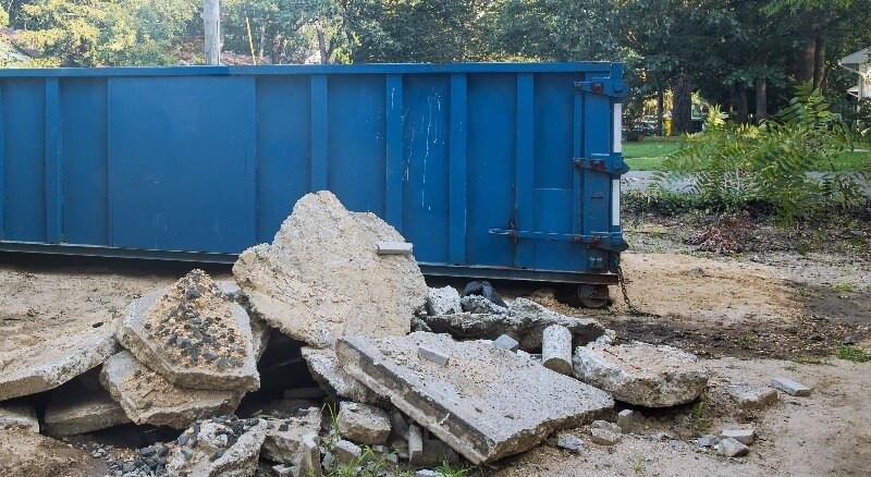 alquiler de contenedores de escombros