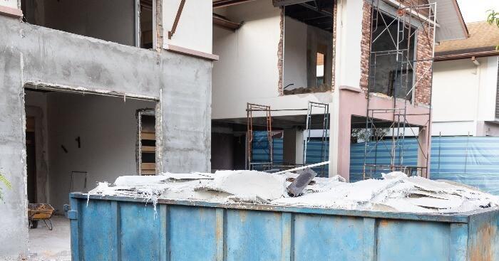 contenedor de obra para vivienda