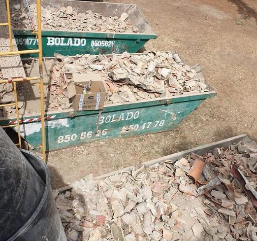 pedrezuela alquiler contenedores escombros