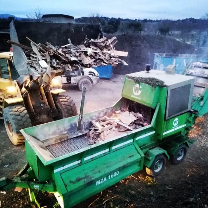 residuos alquiler de contenedores de obra