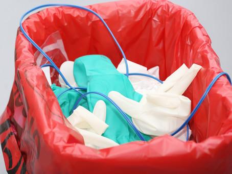 Gestión de residuos contaminados