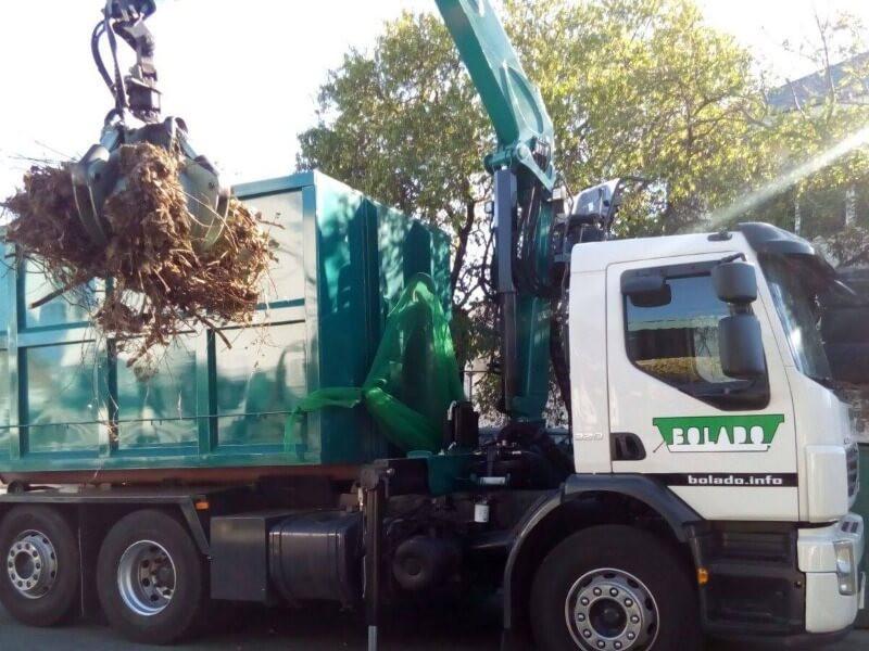 camion pulpo gestion de residuos