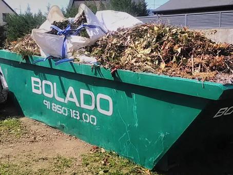 Contenedores de Poda, un eslabón necesario para los residuos de la época
