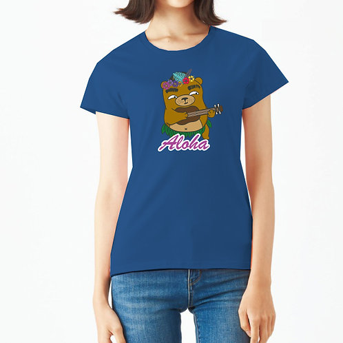 麻甩熊 Aloha 純棉T恤