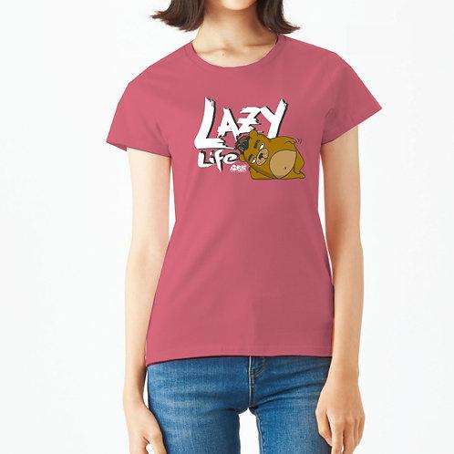 麻甩熊 Lazy Life 純棉T恤