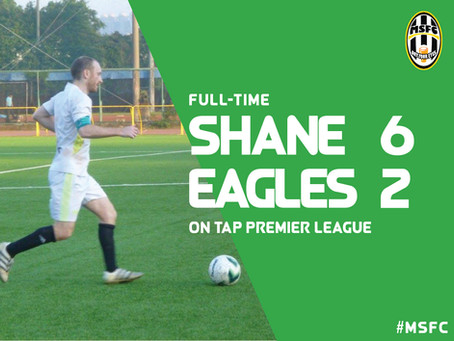 The Mighty Shane 6-2 Taipei Eagles: Shane dominate game to record biggest win of the season
