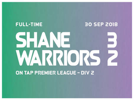 Warriors Fall on their Swords as Shane Get Off to a Flying Start