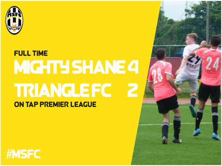 Mighty Shane Show Lethal Touch to Triumph Over Triangle FC