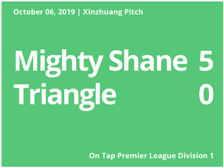Mighty Shane Roll Over Triangle in First League Game