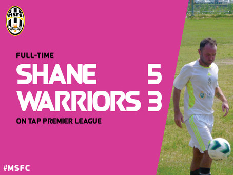 Mighty Shane 5-3 Taipei Warriors: Paruch Hits 4 as Shane Reach Mid Season on a High