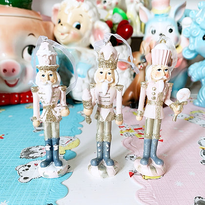Pretty & Pink Cupcake Christmas  Nutcrackers