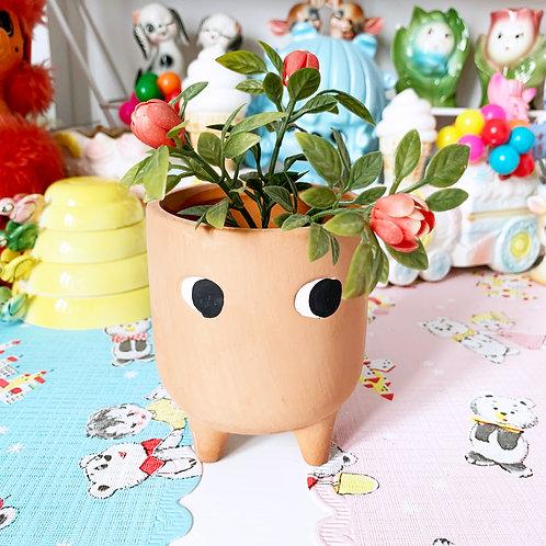 Cute Little Leggy Terracotta Planter