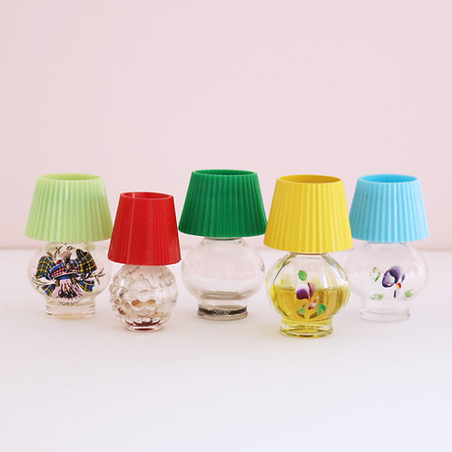 Sweet little Vintage Lamp Bottles - Sold Separately