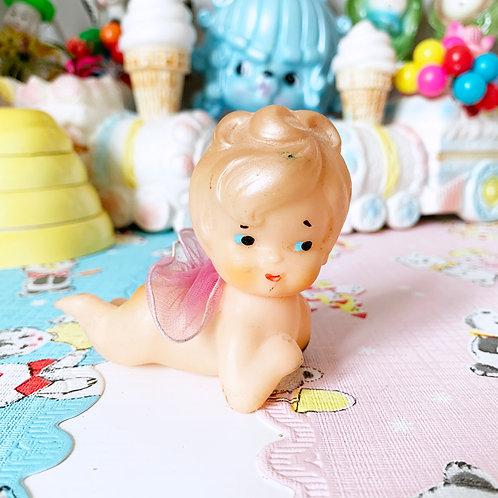 Vintage Plastic Kewpie Fairy