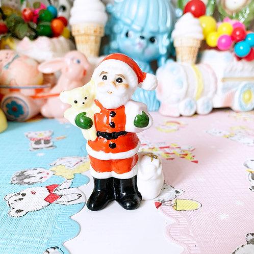 Vintage Ceramic Santa Figurine