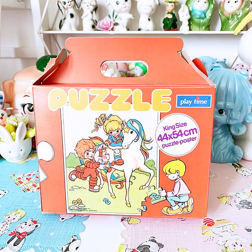Vintage New Old Stock Rainbow Brite Puzzle