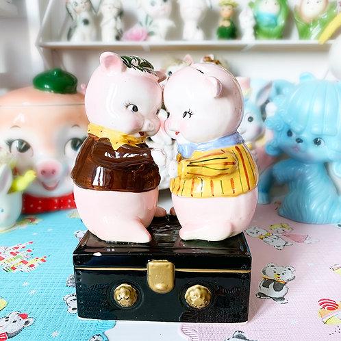 Vintage Piggy Money Box - Possibly Holt Howard