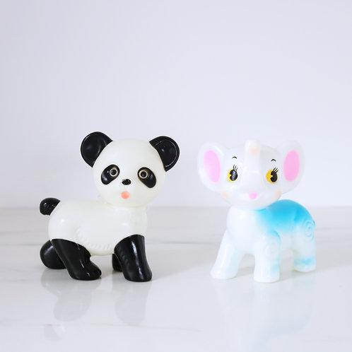 Kitsch Lapin & Me Panda OR Elephant Ornament