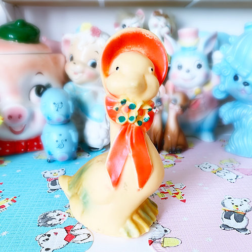 Cute Vintage Goose Squeaky Toy