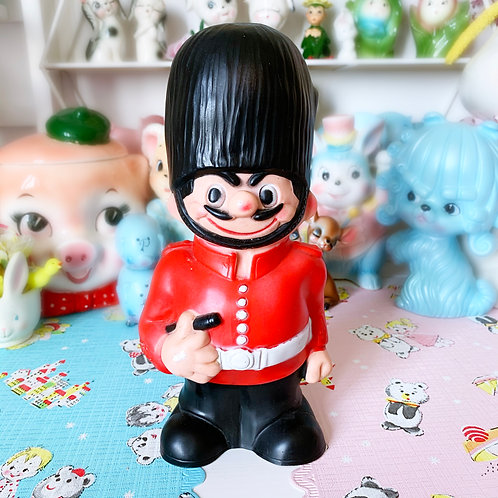 Vintage Combex Grumpy Guard Squeaky Toy