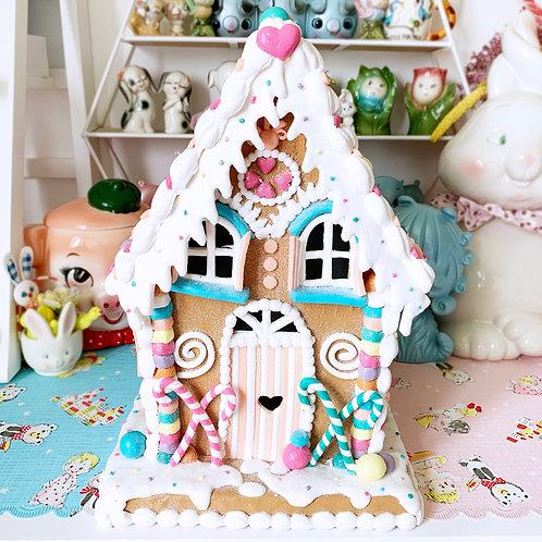 Large LED Light Up Sweet Treats Christmas Gingerbread House