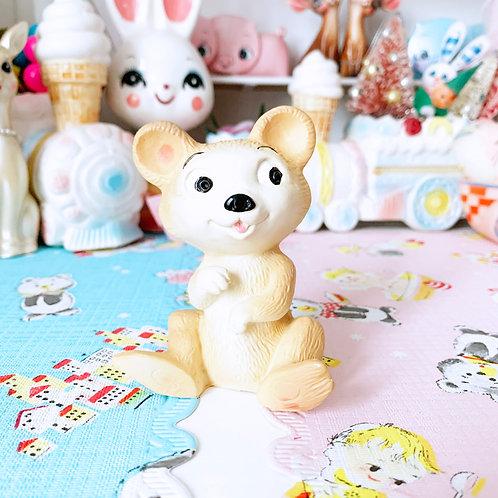 Little Vintage Chad Valley Bear Squeak Toy