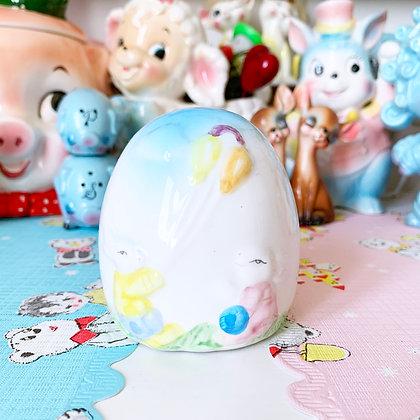 Sweet Little Vintage Bunny Rabbit Money Box