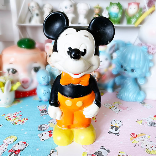 Vintage Combex Walt Disney Micky Mouse Squeaky Toy