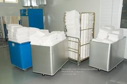 rūpniecisks  veļas mazgātavu komplekss p