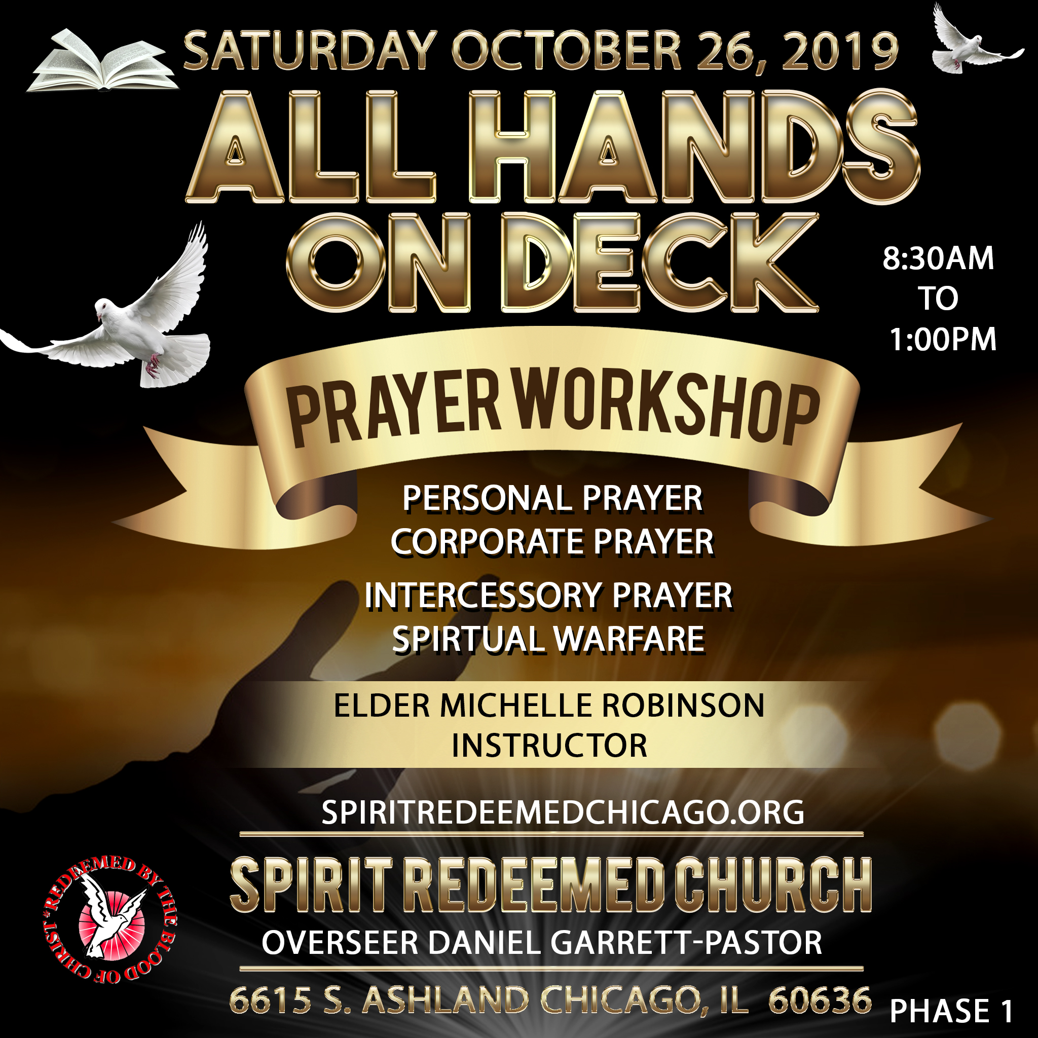 spirit redeemed prayer workshop