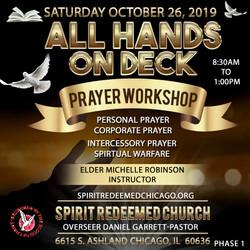 spirit redeemed prayer workshop
