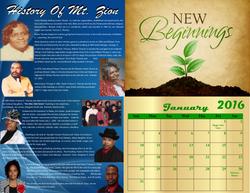 CMHC Calendar 2016. 11x17