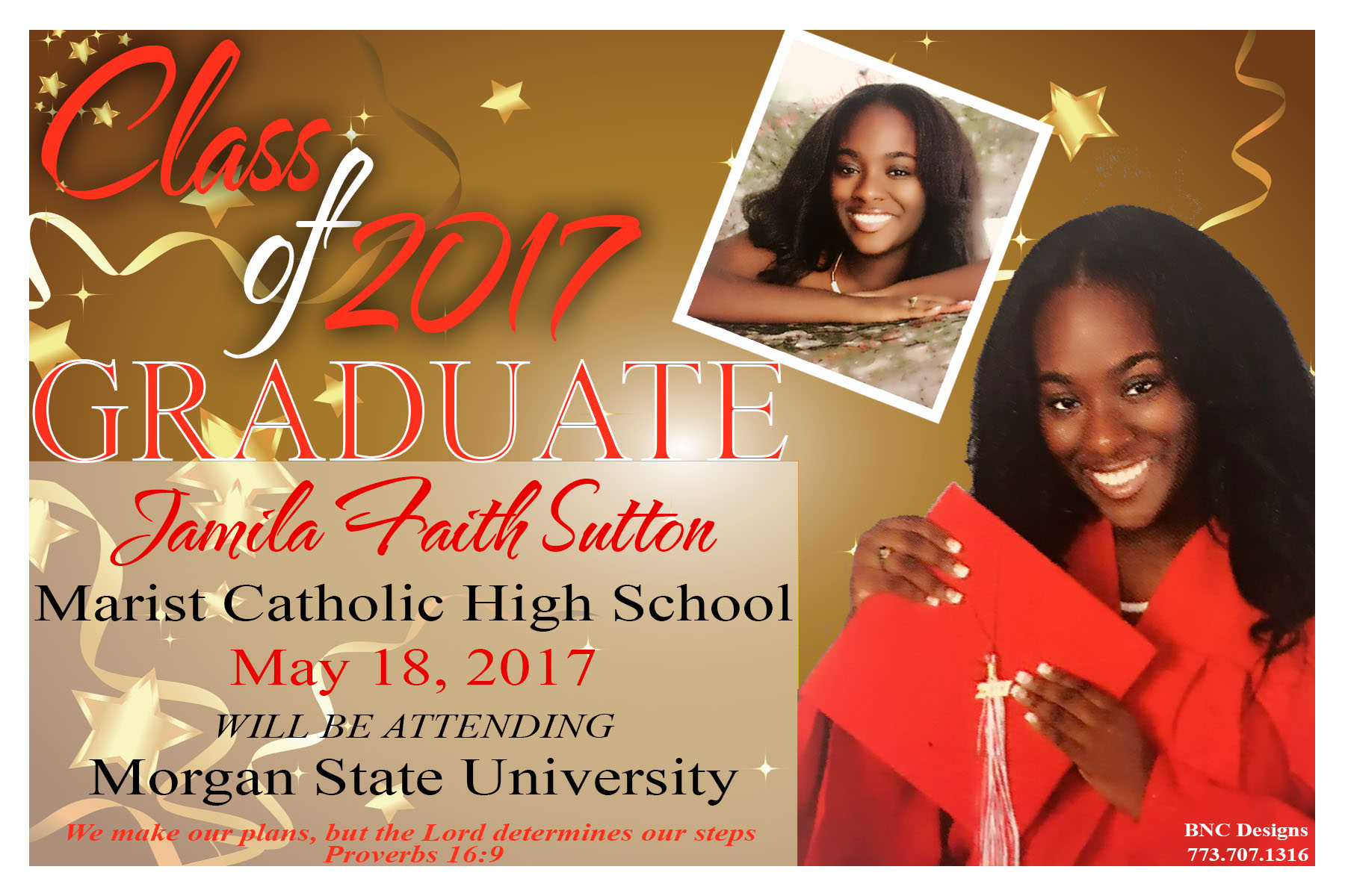 Lucille Graduation Announcements