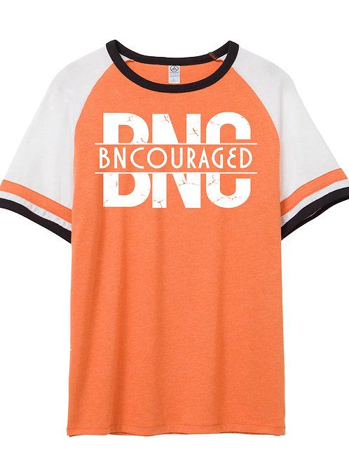 BNC SlapShot Tee--Orange