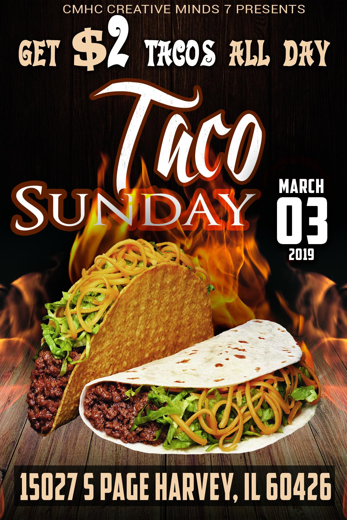 cm7 taco sunday